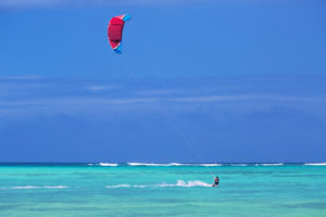 Kite Surfing in Corn Island