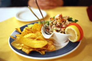 Nicaraguan Ceviche With Chips